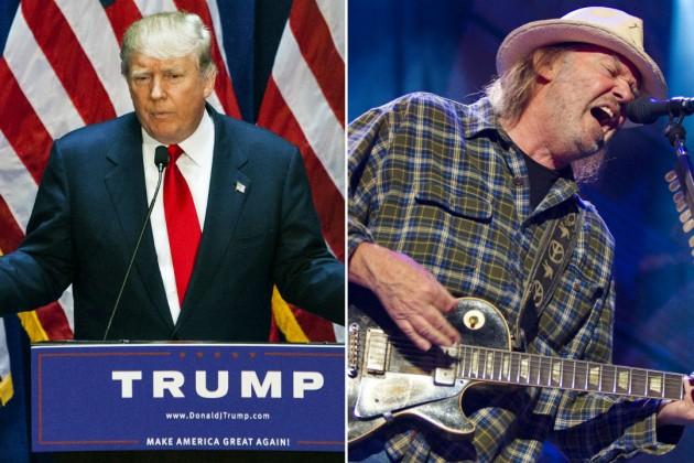 Donald Trump  Neil Young