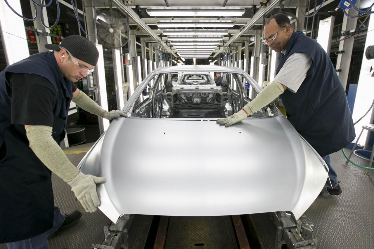 GM Orion production plant
