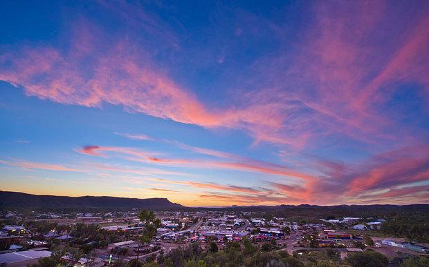 Alice Springs in Australia's Northern Territory