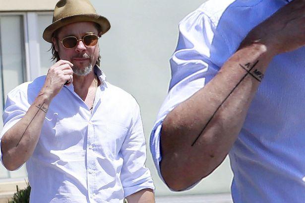 Brad Pitt gets new family tattoo in style of Angelina Jolie