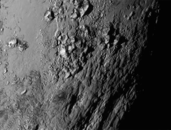 Close Up Images Of Pluto