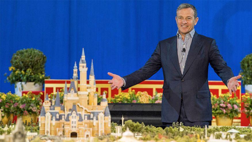 Disney's Robert Iger unveils Shanghai Disneyland
