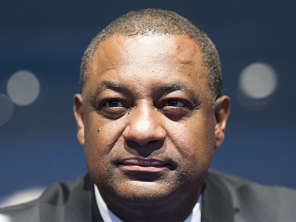 CONCACAF president Jeffrey Webb