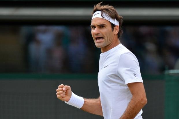 Roger Federer Flawless so far