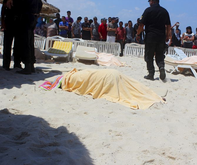 Mother of Tunisian beach gunman says her son must have been brainwashed