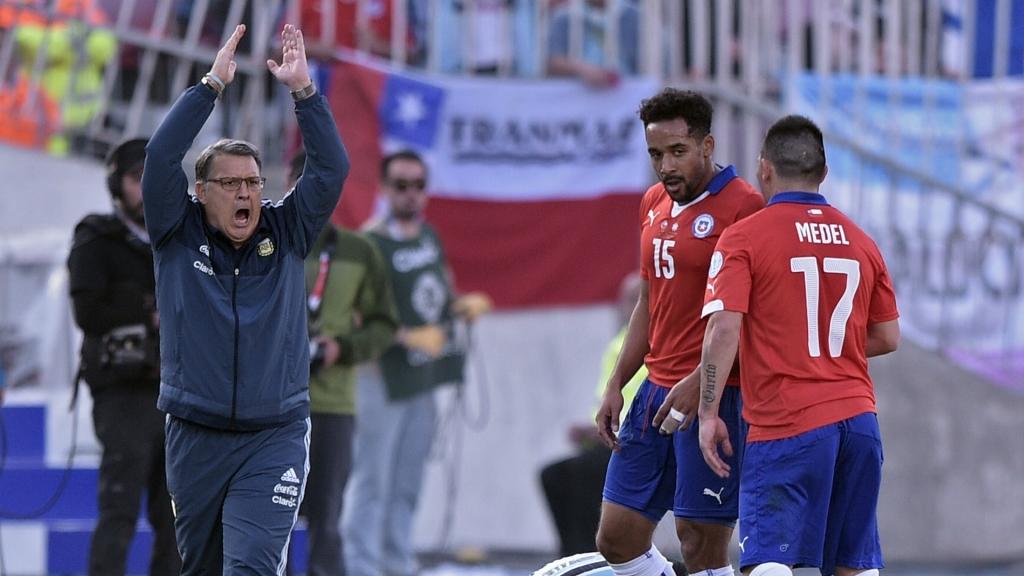 Argentina coach Gerardo Martino
