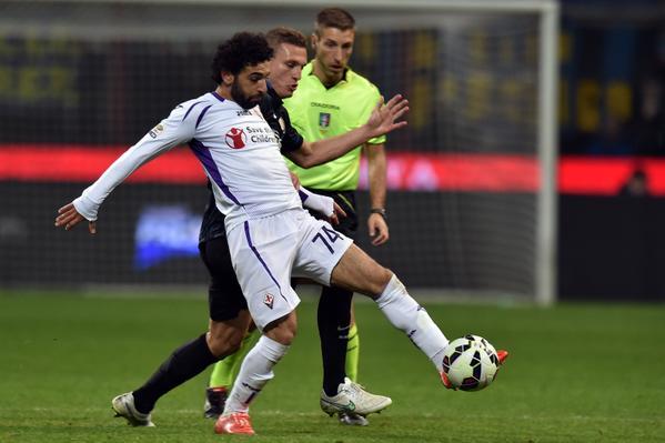 Mo Salah Scored 26 Goals for Fiorentina Last Season. Image AFP