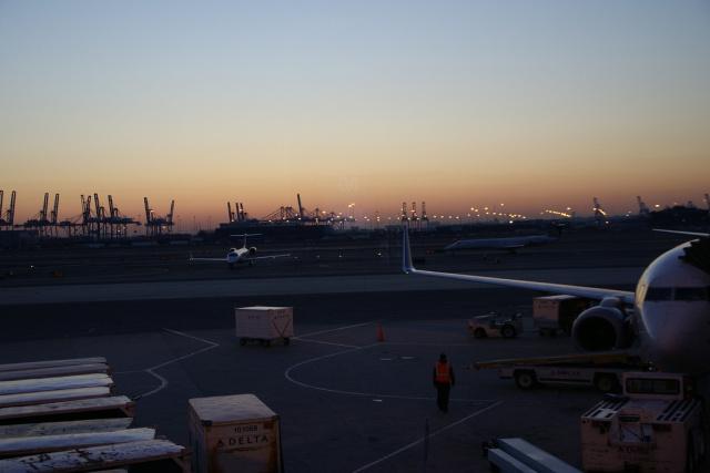 Newark International Airport as seen in 2010.  Shuichi Aizawa