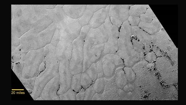 Pluto 'heart of the heat&#039