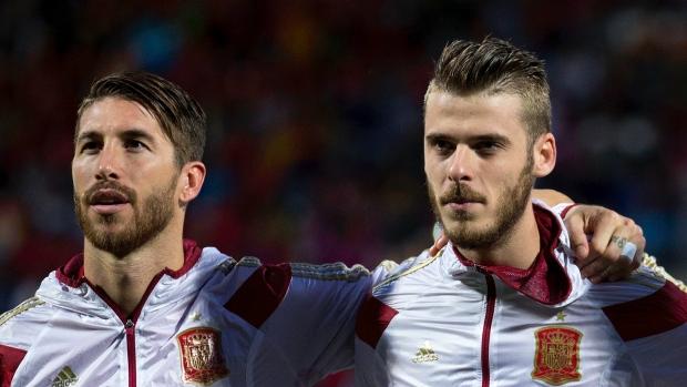 Ramos and de Gea