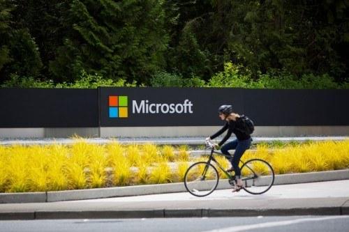 Microsoft Corp. Headquarters As Company Eliminates As Many As 18,000 Jobs