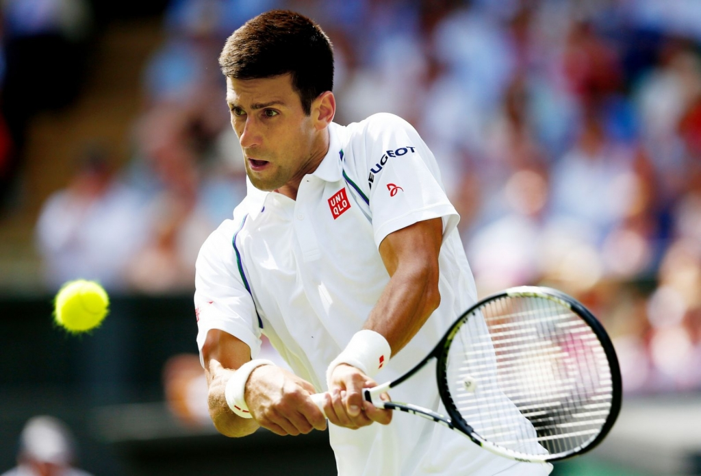 Djokovic Serena Williams through at Wimbledon