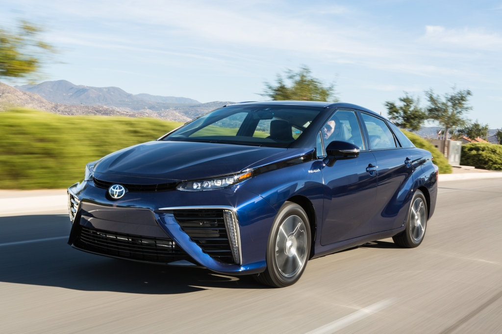 Toyota announced at the Aspen Ideas Festival that the new Toyota Mirai will offer an EPA-estimated 67 miles per gallon equivalent city  highway  combined and an EPA-estimated driving range rating of 312 miles on a single fill of hydrogen – the longest