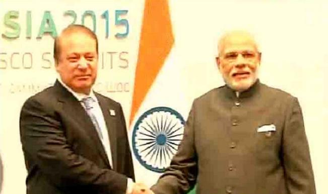 Rare meeting between Pakistan, Indian PMs in Russia - The Washington Post