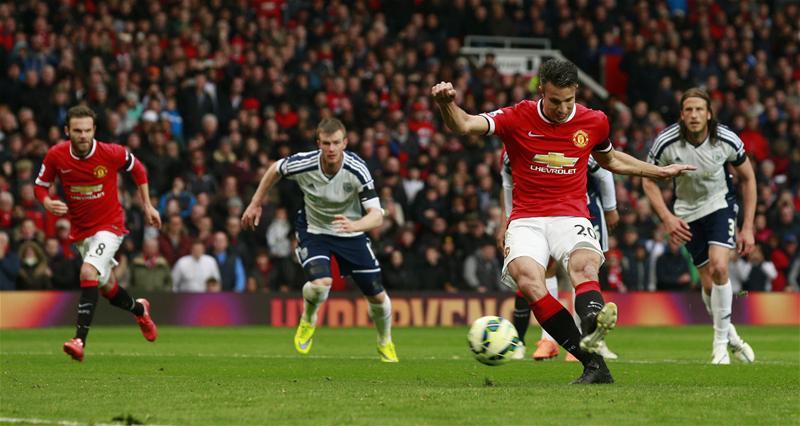 Van Persie had a chance conversion rate of 15.2% in the Premier League last season