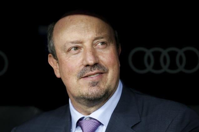 Real Madrid's coach Rafael Benitez