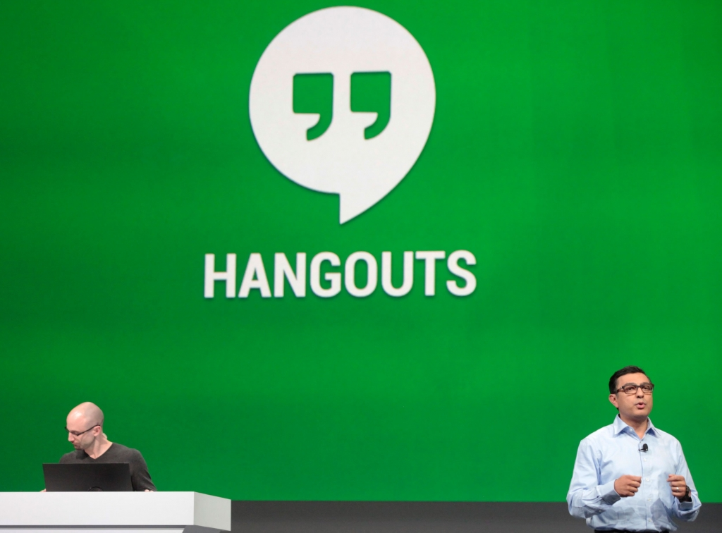 'Hangouts gets its own website