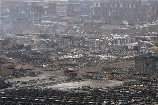 Explosion rips through chemical plant in eastern China; no casualties reported yet