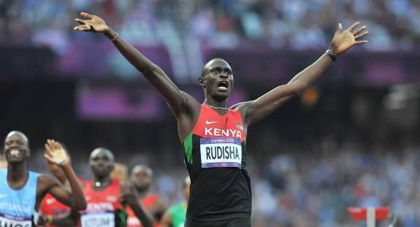 David Rudisha wins the 800m gold at the IAAF World Championships