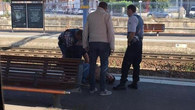 French train shooting