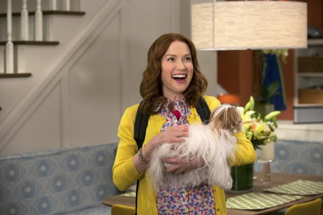 "Ellie Kemper stars in Netflix's new series ""Unbreakable Kimmy Schmidt."""