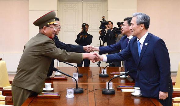 InterKorean highlevel talks