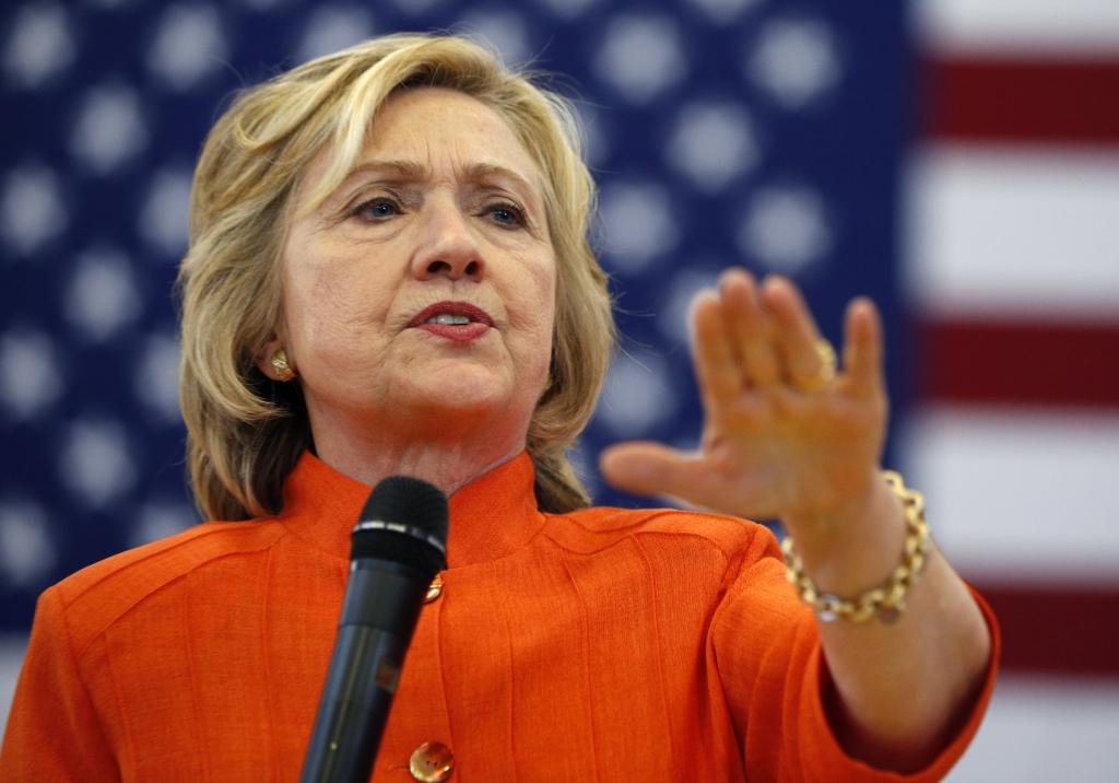 Hillary Clinton speaks in Las Vegas on August