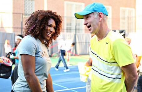 John McEnroe Thinks He Could Beat Serena Williams in Tennis in 2015