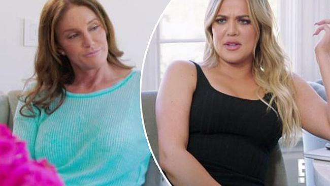 Khloe Kardashian confronts Caitlyn Jenner over Kris comments