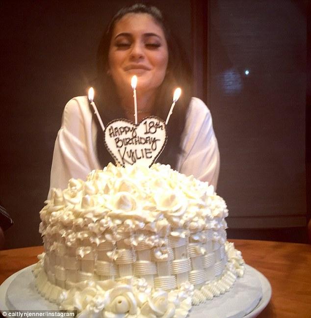 Kylie Jenner Turns 18