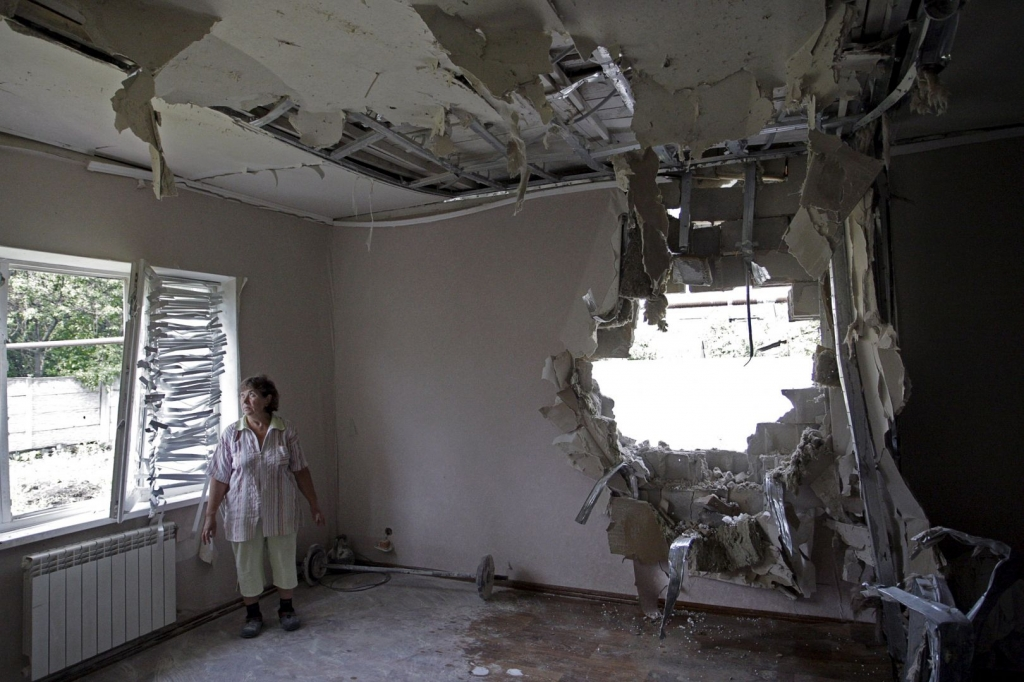Russia's Putin blames Kiev for increased violence in east Ukraine