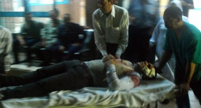 Huge explosion rocks Egypt's Shubra el Kheima city