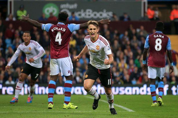 Nick Potts  PA Wire  Adnan Januzaj opens the scoring for Man Utd
