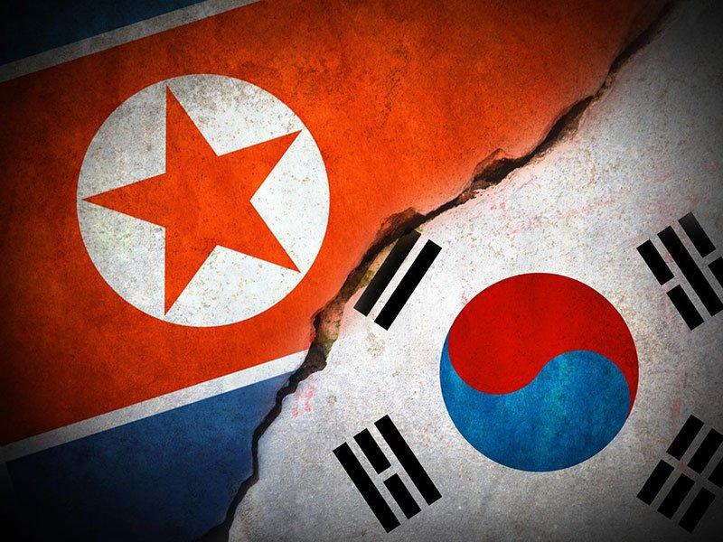 Rival Koreas Trade Artillery Fire At Border