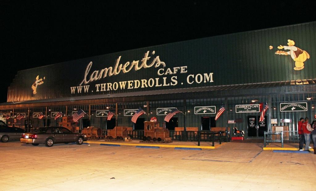 Lambert's Cafe sued over 'throwed rolls'