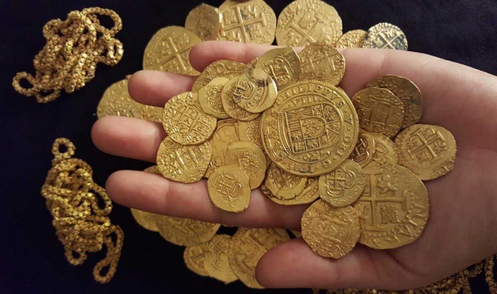 Gold coins Florida