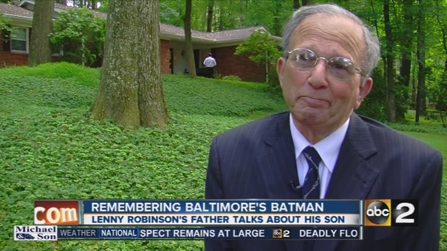 Remembering Baltimore's Batman