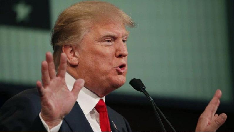 Republican 2016 U.S. presidential candidate businessman Donald Trump