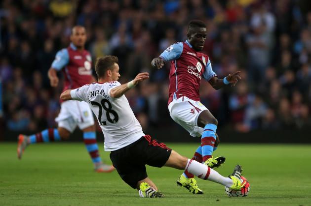 Soccer- Barclays Premier League- Aston Villa v Manchester United- Villa Park