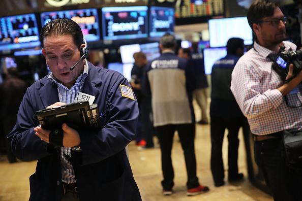 Dow Jones Takes A Sharp Fall