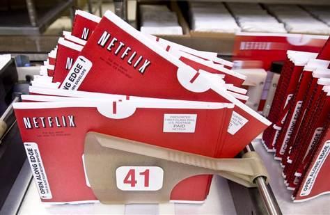 Netflix movie envelopes