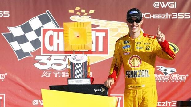 Joey Logan wins Cheez It 355 Sprint Cup race
