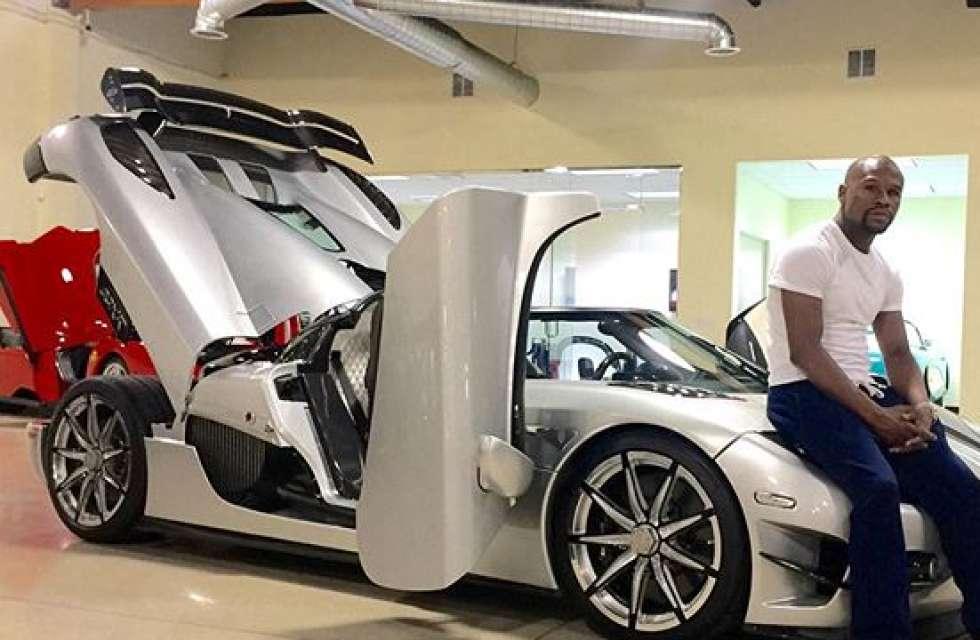 Floyd Mayweather Buys $4.8 Million Car