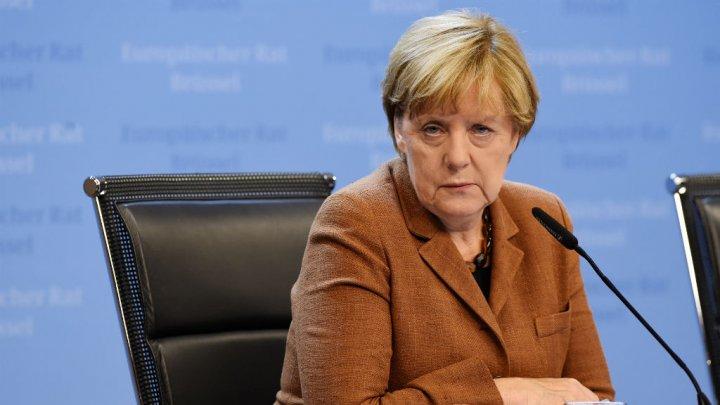 Alain Jocard AFP   German Chancellor Angela Merkel in Brussels