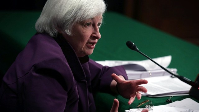 Janet Yellen head of Fed