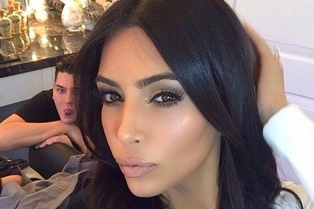 Follow Kim Kardashian on Instagram