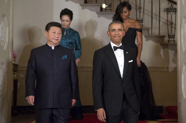 Barack Obama Xi Jinping Michelle Obama Peng Liyuan