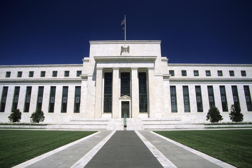 Federal Reserve Building Washington DC USA