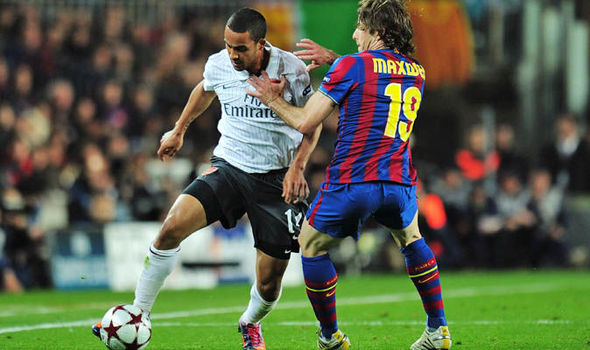 Theo Walcott at Barcelona