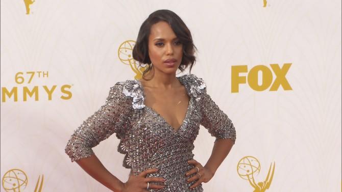 Glittery Metallic Gowns Dominate Emmy Fashion